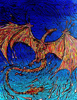 Lava Dragon by John Knox