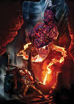 Lava Genie by Paul Davidson