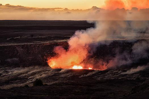 Lava Lake  by Nicki Frates
