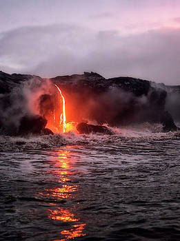 Lava Pour by Nicki Frates