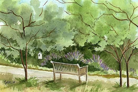 Lavendar Mounds by Marsha Elliott