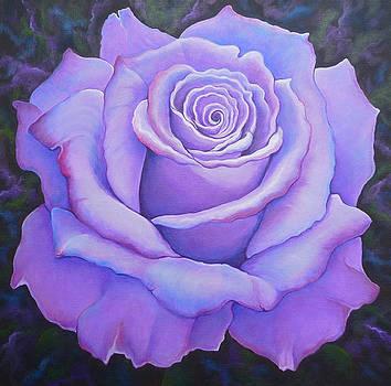 Lavendar Rose by Barbara Rockhold
