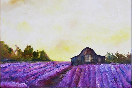 Lavender Barn by Tim Ford