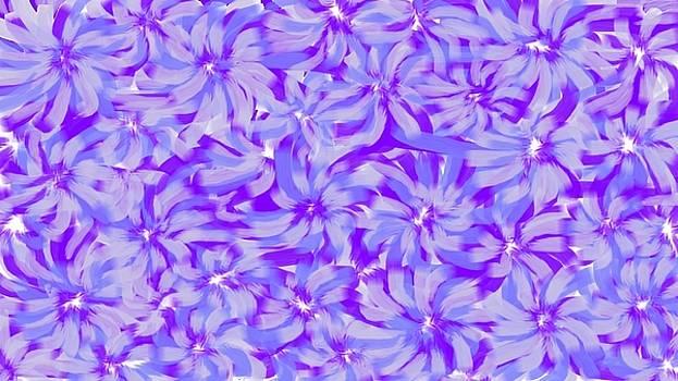 Lavender Blue 1 by Linda Velasquez