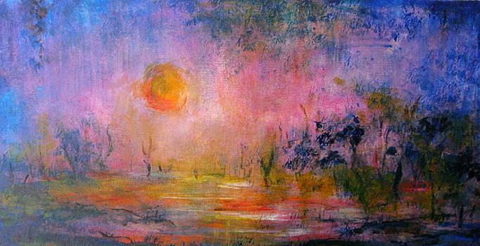Lavender Evening by Bonnie Bardos
