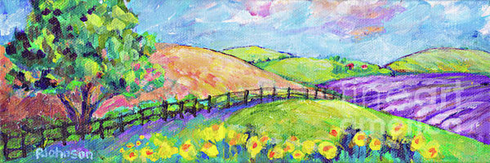 Peggy Johnson - Lavender Fields by Peggy Johnson