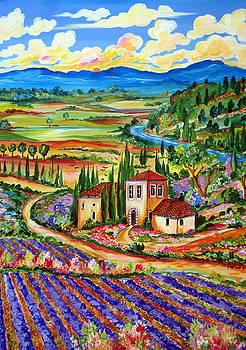 Lavender Fields by Roberto Gagliardi