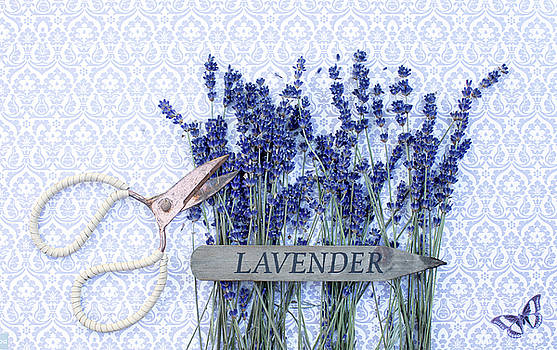 Lavender Garden by Rebecca Cozart