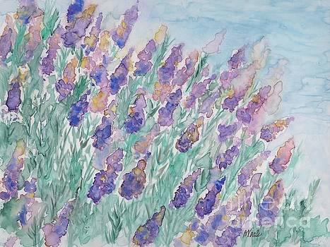 Lavender Meadow by Bev Veals