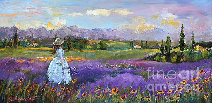 Lavender Splendor  by Jennifer Beaudet