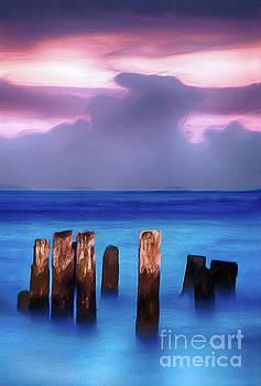 Lavender Sunrise on the Outer Banks AP by Dan Carmichael