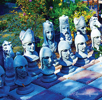 Lawn Chess by Mariecor Agravante