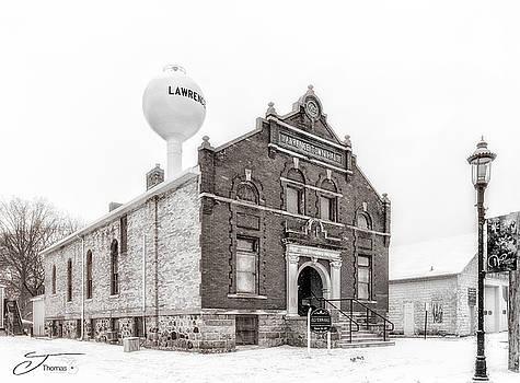Lawrence Michigan Town hall by J Thomas