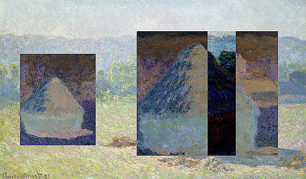 Layered 13 Monet by David Bridburg