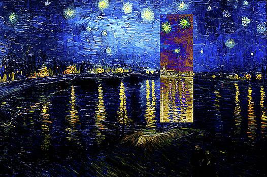 Layered 15 van Gogh by David Bridburg