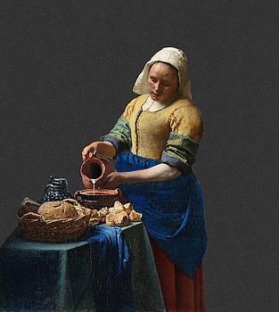 Layered 16 Vermeer by David Bridburg