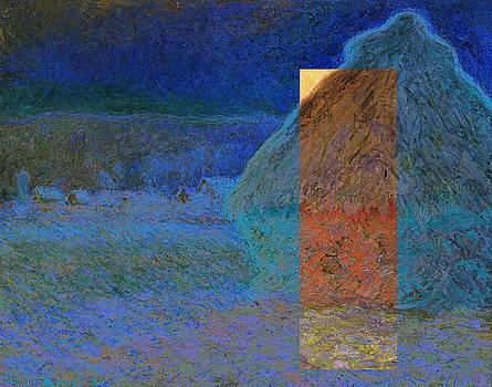 Layered 3 Monet by David Bridburg
