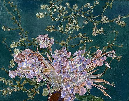 Layered 4 van Gogh by David Bridburg