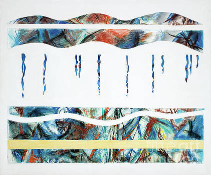 Layers, Beneath the surface, No.2 of 4  by Kerryn Madsen-Pietsch