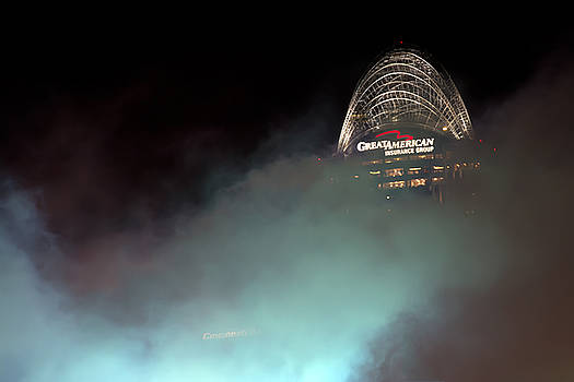 Randall Branham - Laser light smoke and Great American