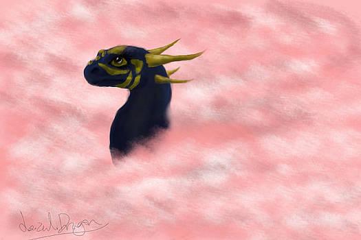 Lazuli Dragon in the Clouds by Lazuli Dragon