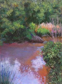 Lazy Creek Reflections by Julie Mayser