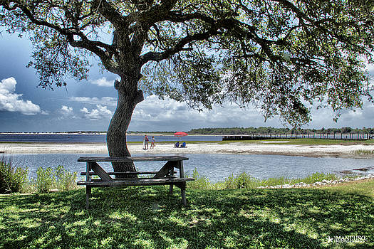 Lazy Day Along The ICW by Phil Mancuso