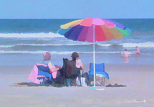 Lazy Day At The Beach by Phil Mancuso