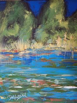 Lazy Lake by Jan VonBokel