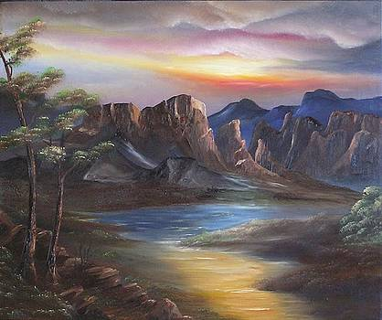 Lazy River by John Johnson
