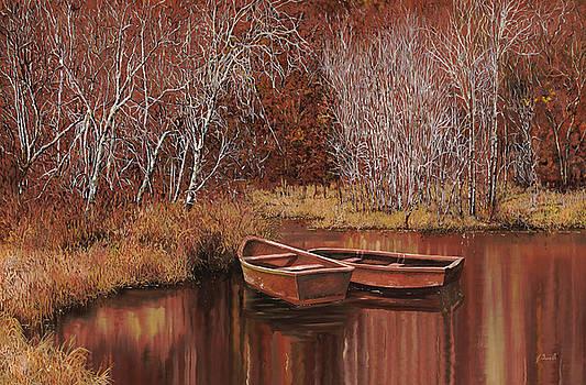 Le Barche Sullo Stagno by Guido Borelli