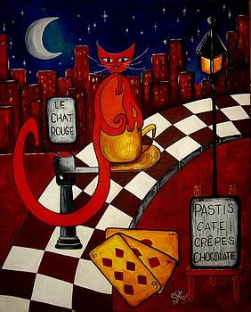Le Chat Rouge  by Silvia Regueira