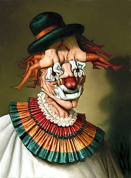 Le clown aux nues by Andre Martins de Barros