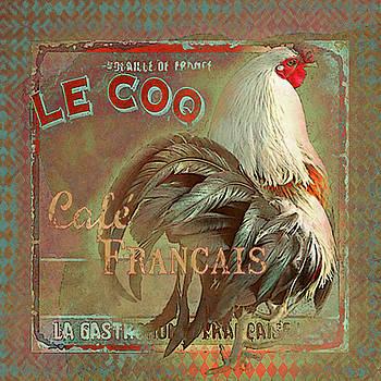 Le Coq - Cafe Francais by Jeff Burgess