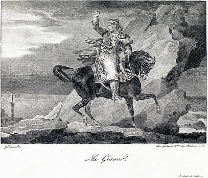 Theodore Gericault -  Le Giaour or The Infidel