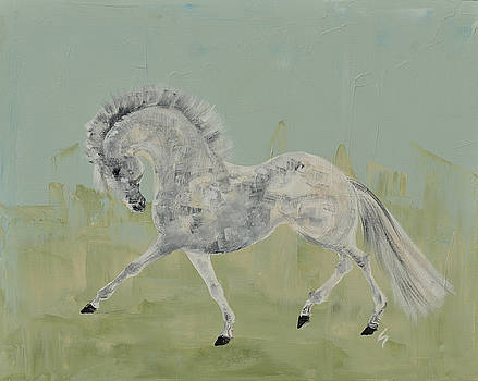 Le Gris Cheval by Liz Pizzo