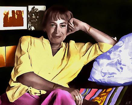 Le Guin Ursula by Sergey Lukashin