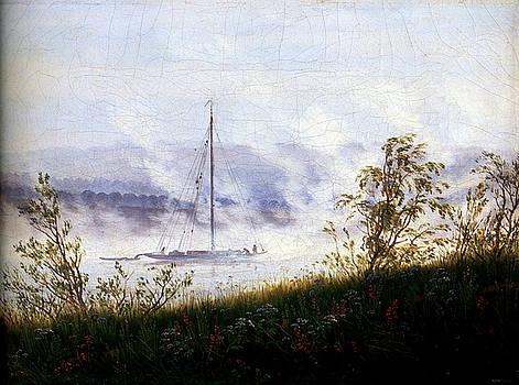 Le Matin Dans Le Brouillard by Caspar David Friedrich