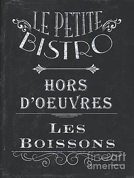 Le Petite Bistro 1 by Debbie DeWitt