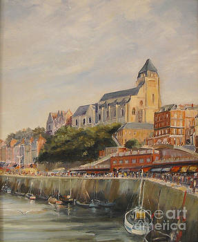 Le Treport France by Beatrice Cloake
