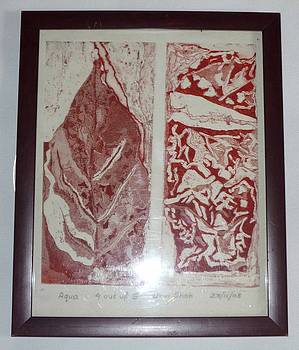 Leaf Print by Urvi Shah