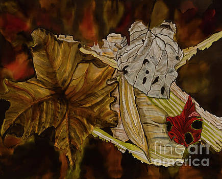 Leaf Stilllife by Goodson Kathy