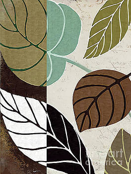 Leaf Story II by Mindy Sommers