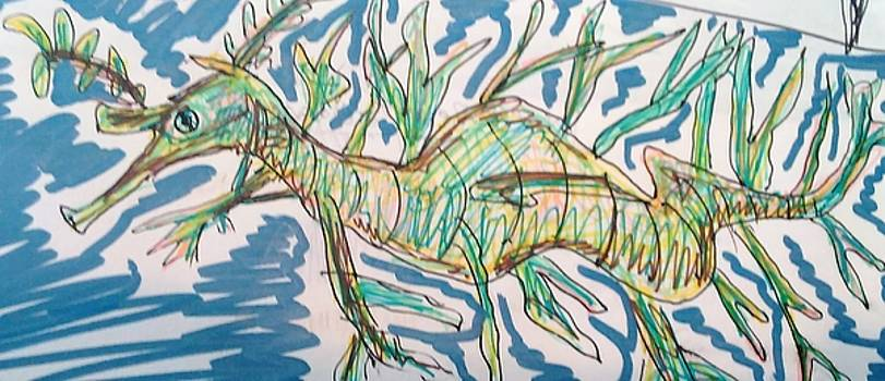 Leafy Sea Dragon by Andrew Blitman