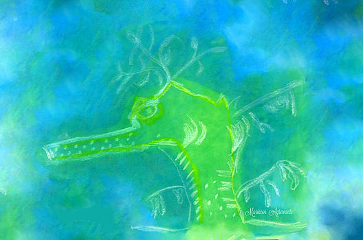 Leafy Seadragon by Mariecor Agravante