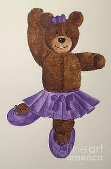 Leah's Ballerina Bear 1 by Tamir Barkan