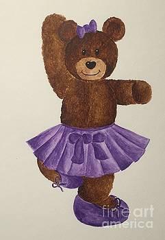 Leah's Ballerina Bear 2 by Tamir Barkan