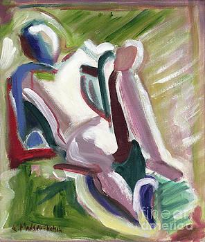 Leaning Back by Kerryn Madsen-Pietsch