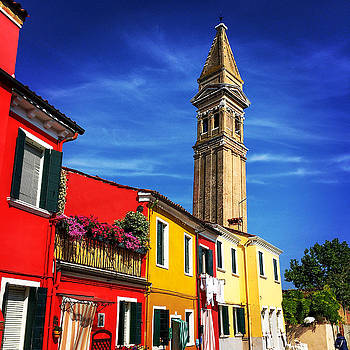 Lisa Lemmons-Powers - Leaning Bell Tower of Burano