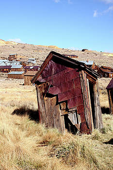 Leaning Bodie Outhouse by Art Block Collections